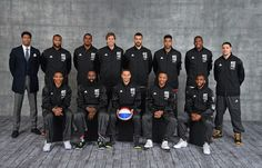 The 2015 NBA-All Star Western Conference team.