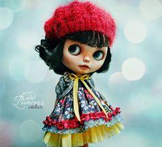 SPRING CARNIVAL Blythe Ooak Set By Odd Princess by oddprincess