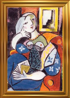 Picasso Original Seated Woman | Artist: Picasso