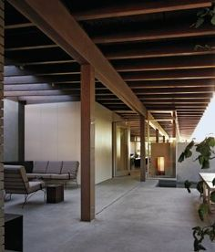Suyama fauntleroy Hillside House, Courtyard House, Residential Architect, Architect Design, Balcony Deck, Architect Magazine, Contemporary Patio, Metal Structure, Sense Of Place