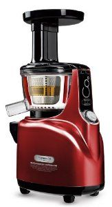 Kuvings NS-940 Silent Upright Masticating Juicer, Red