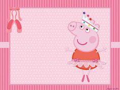 Kits Imprimibles Piquilin: Kit Imprimible Peppa Bailarina GRATIS Cumple Peppa Pig, Ben And Holly, Romantic Roses, Birthday Parties, Retro, Kids, Party Ideas, Frozen, Scrapbooking