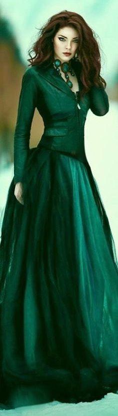 She Likes Green for Christmas•☆