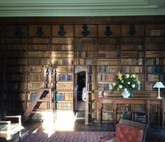 This has to be one of the most enticing rooms in Ireland, not least because books provide the greater part of its furnishing. Discovering the weighted shelves at Tullynally is akin to attending a party and encountering lots of old friends while being introduced to just as many new ones.