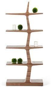 Modrest Timber Modern Walnut Bookcase - VIG Furniture - Touch of Modern Etagere Bookcase, Bookcase Shelves, Bookcases, Book Shelves, Shelving, Wall Shelves, Walnut Veneer, Wood Veneer, Wood