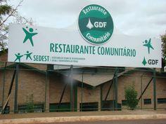 Restaurante comunitário do Paranoá fechado. Foto: internet/reprodução…