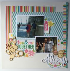 Yesterday I was browsing the internet for scrapbook layout and card ideas. There is so much inspiration out there. I like to be involved in communities with people who like paper crafting. The pe…