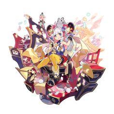 十二竜氏・子 ミツヒデ | ドラガリアロストDB【ドラガリDB】 Game Character, Character Concept, Concept Art, Character Design, Anime Fantasy, Fantasy Girl, Game Design, Design Art, Anime Summer