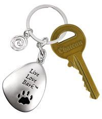Live Love Bark™ Keychain at The Animal Rescue Site