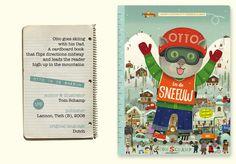 Otto In De Sneeuw by Tom Schamp