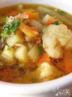 ciorba de legume - de post Mexican Food Recipes, Soup Recipes, Diet Recipes, Vegetarian Recipes, Cooking Recipes, Healthy Recipes, Ethnic Recipes, Romania Food, Australian Food