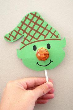 Elf Lollipops