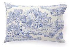 French Flair  S/2 Maison Pastorale King Pillowcases  $89.00