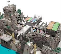 "Ships from ""Gargantia on the Verdurous Planet"