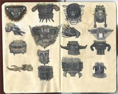 Shadow of the Colossus - Colossus Heads