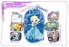 Pocket Princesses 166: Meet ElsaPlease reblog, do not repost or remove credits.Facebook page