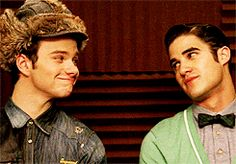 Bonus points for the way Blaine keeps looking at Kurt after he turns back.