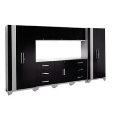 NewAge Products Performance Series 9-piece Cabinet Set - Free Shipping Today - Overstock.com - 16596880 - Mobile