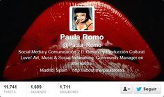 Fotos Twitter de portadas de Paula Romo