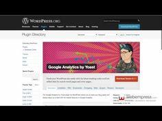 Inserta el código de seguimiento de Google Analytics en WordPress en men...
