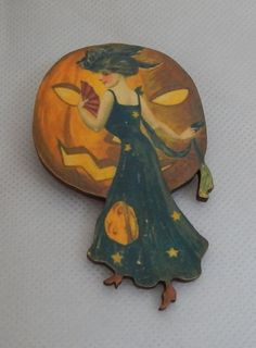 Halloween Vintage Style Witch Brooch or Scarf Pin Wood Accessories Fashion NEW…http://www.ebay.com/itm/Halloween-Vintage-Style-Witch-Brooch-or-Scarf-Pin-Wood-Accessories-Fashion-NEW-/152271924487?ssPageName=STRK:MESE:IT