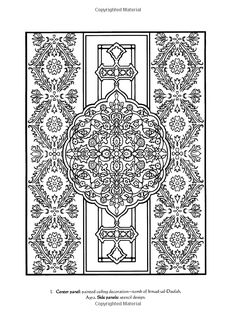 Traditional Designs from India (Dover Design Coloring Books)