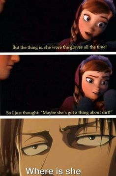 Lol frozen and attack on titan