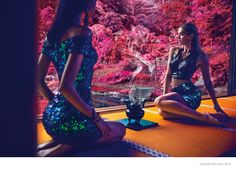 Guess Goes to Japan for Holiday 2014 Campaign by Chen Man