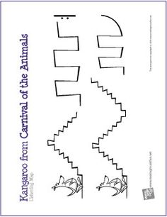 Kangaroo (Carnival of the Animals) | Free Printable Listening Map