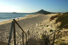 Moledo beach is one of the amazing beaches you'll find in northern Portugal.