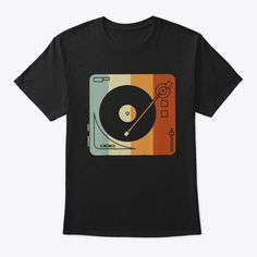 Discover Vintage Vinyl Record Player T-Shirt from Vinyl Record Player Shirt, a custom product made just for you by Teespring. - If you have an extensive vinyl record. Tee Shirt Designs, Tee Design, Vintage Vinyl Record Player, Design Kaos, Airbrush T Shirts, Vinyl Store, Baby Boy Fashion, Vintage Shirts, Ottawa