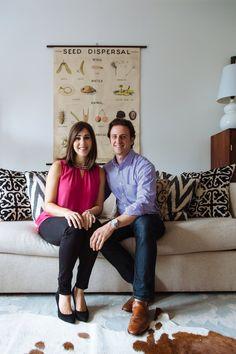 Allison & Ben's Scenic & Textured Brooklyn Home