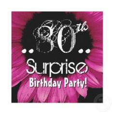 If you're thinking about throwing a surprise birthday party for an octogenarian, make sure that you provide plenty of opportunity for the celebrant and guests to reminisce and relive earlier times.