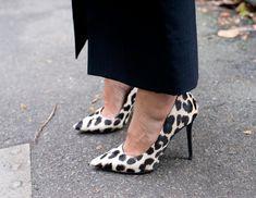 classic leopard heels