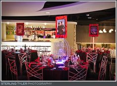 hollywood bar mitzvah centerpieces - Google Search
