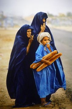 Return from the market - Mauritania