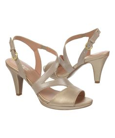 Look at this Gold Impulse Sandal on #zulily today!