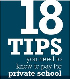 How are you going to cover tuition?: 18 Tips for Paying for Private School Budget, Budgeting Tips, #budget