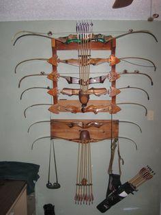 recurve bow rack
