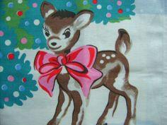 Cath Kidston Deer Little Christmas, Xmas, Cath Kidston Christmas, Bambi, Tea Towels, Free Gifts, Reindeer, Moose Art, Retro