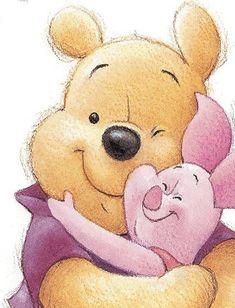 Winnie the Pooh – Paris Disneyland Pictures Pooh And Piglet Quotes, Winnie The Pooh Drawing, Winnie The Pooh Pictures, Cute Winnie The Pooh, Winne The Pooh, Winnie The Pooh Friends, Lilo E Stitch, Disney Phone Wallpaper, Disney Drawings