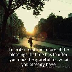 Law of Attraction - Gratitude