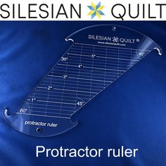 Hey Check this ! Protractor ruler  (£24.90) https://www.silesianquilt.com/index.php/catalog/product-category/anklets/protractor-ruler