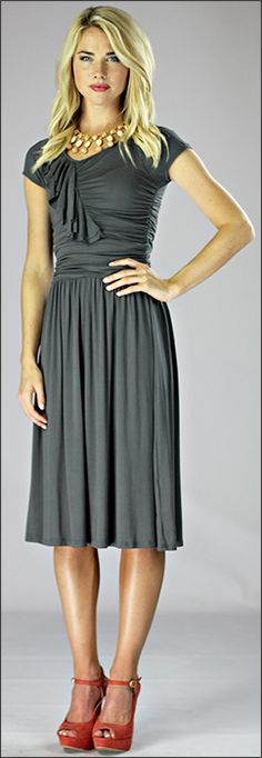 My graduation dress. Awesome site for modest and inexpensive clothing!