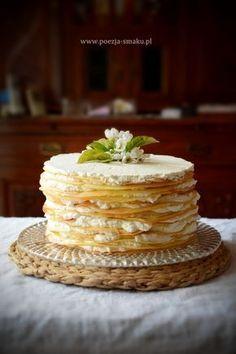 Polish Recipes, Polish Food, Lany, Vanilla Cake, Nom Nom, Food And Drink, Gluten Free, Sweets, Snacks