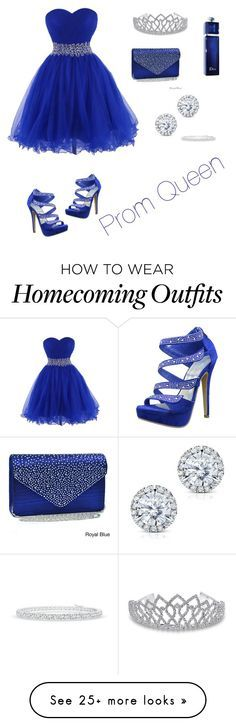 """Prom queen"" by nadia8825 on Polyvore featuring Dasein, Bling Jewelry, Christian Dior and Kobelli"