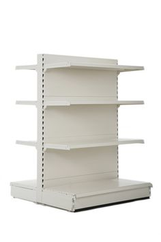 High gondola shelving for retail stores Shop Shelving, Retail Shelving, Shelves, Gondola Shelving, 3 Bedroom Bungalow, Shelf Dividers, Store Layout, Shop Fittings, Neat And Tidy