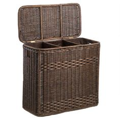 Beautiful. Functional. Select from two colors to fit any decor. Our 3-Compartment Laundry Hamper makes sorting laundry easy while looking good too!