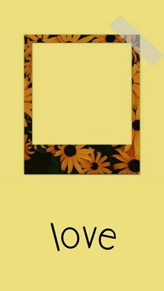 Name Wallpaper, Cute Wallpaper Backgrounds, Aesthetic Iphone Wallpaper, Cute Wallpapers, Polaroid Picture Frame, Polaroid Pictures, Instagram Frame Template, Polaroid Template, Photo Collage Template