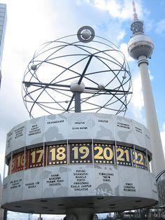 Alexanderplatz, East Berlin -- Lunch while staying in West Berlin.
